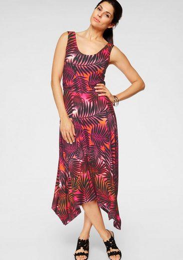 Laura Scott Sommerkleid in trendiger Zipfel-Optik