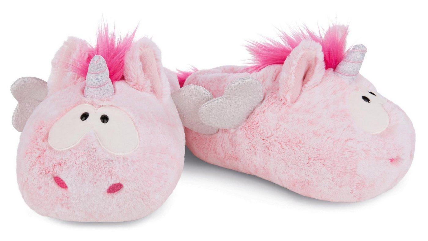 Hausschuhe - Nici »Pink Harmony« Plüsch Hausschuhe im süßen Einhorn Look ›  - Onlineshop OTTO
