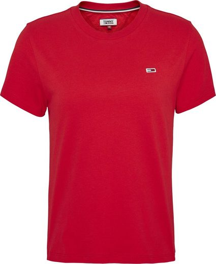 TOMMY JEANS T-Shirt »TJW TOMMY CLASSICS TEE« mit Tommy Jeans Logo-Flag
