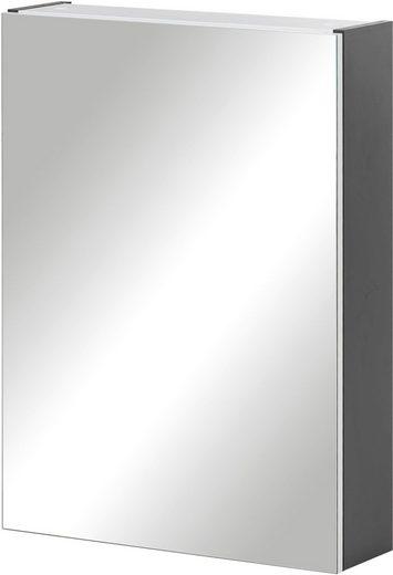 Schildmeyer Spiegelschrank »Basic« Breite 50 cm, 1-türig, Glaseinlegeböden, Made in Germany
