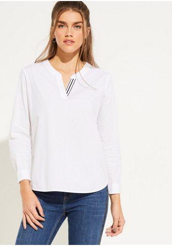 COMMA Блузка с длинным рукавом