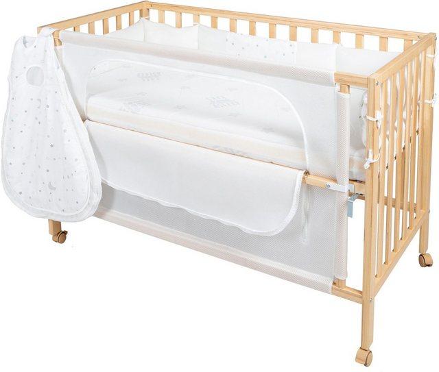 Babybetten - Roba® Babybett »Room Bed, safe asleep®, Sternenzauber natur«, 4 tlg.  - Onlineshop OTTO