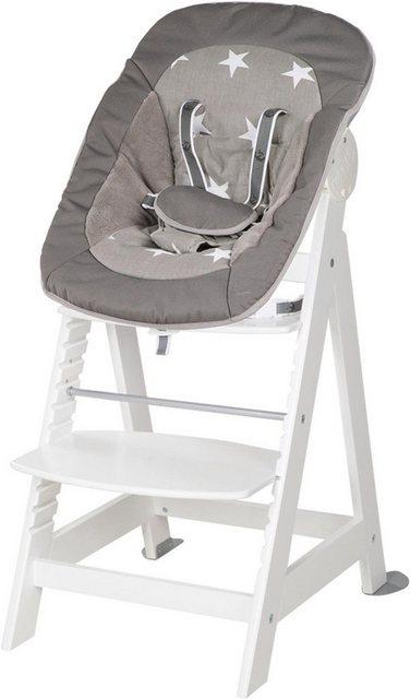 Hochstühle - Roba® Hochstuhl »2 in 1 Set Little Stars Born Up« mit Neugeborenen Aufsatz  - Onlineshop OTTO