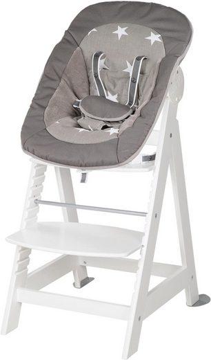 roba® Hochstuhl »2-in-1 Set Little Stars Born Up« mit Neugeborenen-Aufsatz