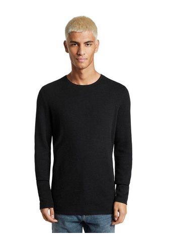 TOM TAILOR джинсы трикотажный пуловер