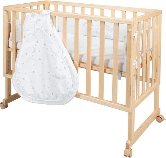 roba® Stubenbett »safe asleep® 3-in-1 Sternenzauber, natur«, 4-tlg.