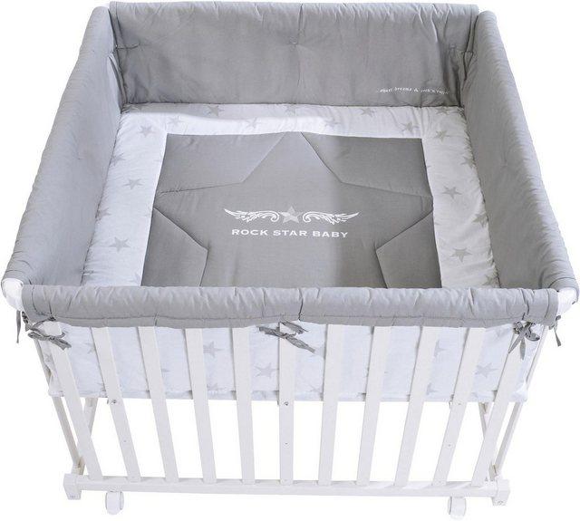 Laufgitter - Roba® Laufgitter »Rock Star Baby 2, 100x100«, mit Laufgittereinlage  - Onlineshop OTTO