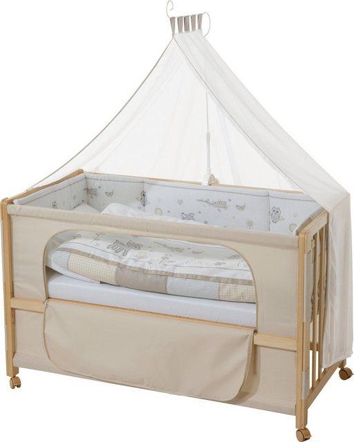 Babybetten - Roba® Babybett »Room Bed, Tierfreunde«, 6 tlg.  - Onlineshop OTTO