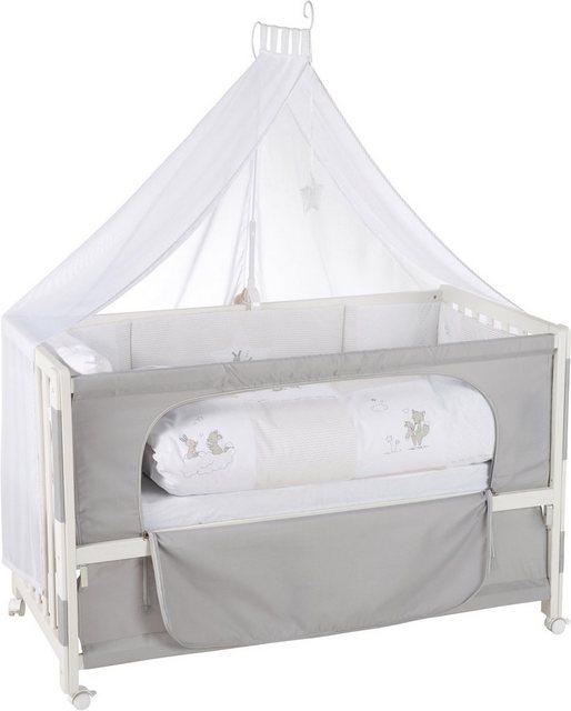 Babybetten - Roba® Babybett »Room Bed, Fox Bunny«, 6 tlg.  - Onlineshop OTTO