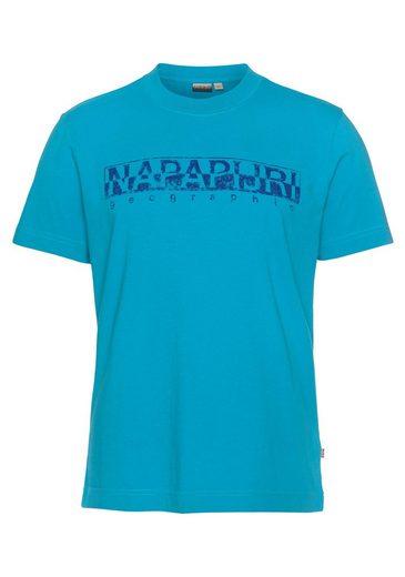 Napapijri T-Shirt mit Frontprint