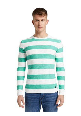TOM TAILOR DENIM TOM TAILOR джинсы пуловер с круглым вы...