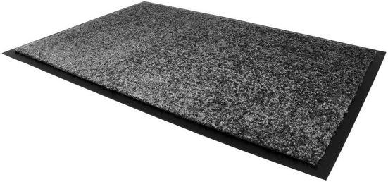 Fußmatte »CLEAN«, Primaflor-Ideen in Textil, rechteckig, Höhe 9 mm, Schmutzfangmatte, große Farbauswahl, In- und Outdoor geeignet, waschbar