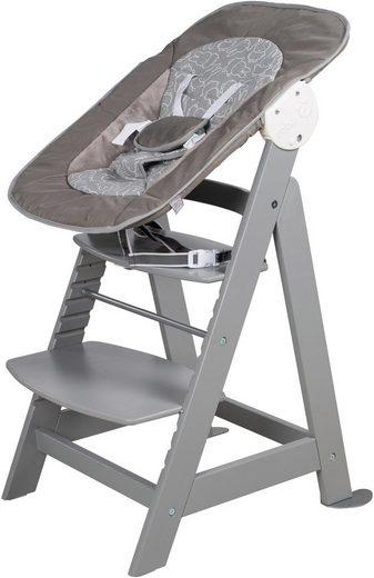 roba® Hochstuhl »Treppenhochstuhl 2-in-1 Set Miffy, Born Up«, mit Neugeborenen-Aufsatz