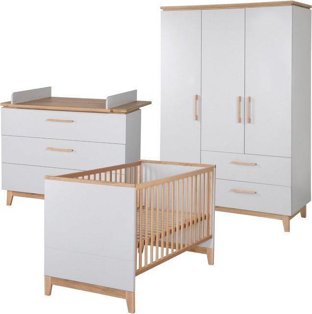 Babyzimmer - Roba® Babyzimmer Komplettset »Caro«, (Set, 3 tlg)  - Onlineshop OTTO