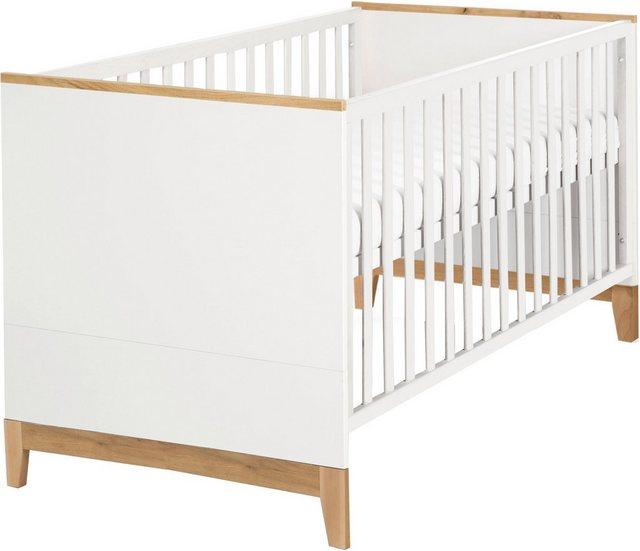 Babybetten - Roba® Babybett »Kombi Kinderbett Finn mit Standfüßen«  - Onlineshop OTTO