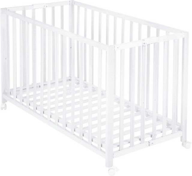Babybetten - Roba® Babybett »Fold Up, weiß«, klappbar  - Onlineshop OTTO