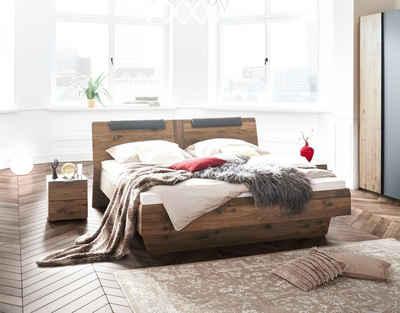 THIELEMEYER® Massivholzbett »Sleep«, kann frei in den Raum gestellt werden