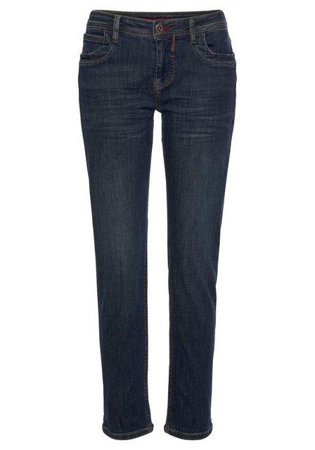 Hosen - BLUE FIRE 5 Pocket Jeans »Nancy« perfekte Passform durch Stretch Denim › blau  - Onlineshop OTTO
