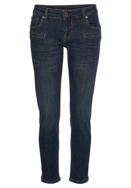 Hosen - BLUE FIRE 5 Pocket Jeans »Alicia« mit Paspeltaschen vorn › blau  - Onlineshop OTTO