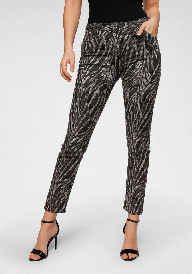 please jeans -  Boyfriend-Hose »P78A« im schönem Zebra-Design