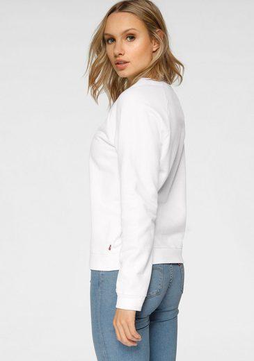 Großer Rabatt Levi's® Sweatshirt »Graphic Crew« mit Levis Logo und langen Ärmeln