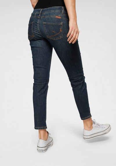 BLUE FIRE 5-Pocket-Jeans »Alicia« mit Paspeltaschen vorn