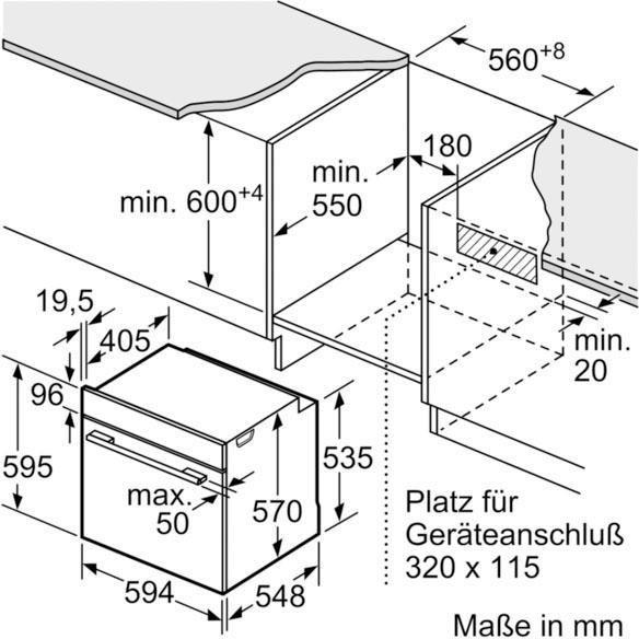 Küchengroßgeräte - NEFF Backofen Set N 30 N 70 XB48P, mit Teleskopauszug nachrüstbar, Pyrolyse Selbstreinigung  - Onlineshop OTTO