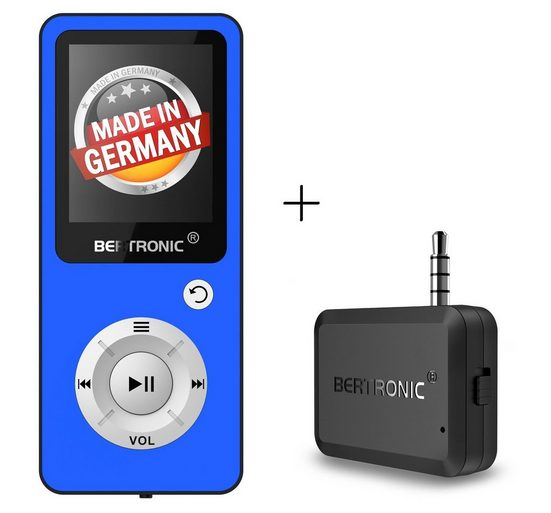 BERTRONIC »Royal BC04« MP3-Player (32 GB Speicherkarte, Made in Germany, Audio-Player mit Bluetooth Adapter)