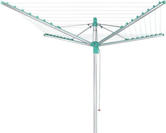 Leifheit Wäschespinne »Linomatic 400 Easy«, 40 Meter Leinenlänge
