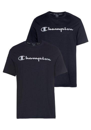 Champion T-Shirt »AMERICAN CLASSICS« (Packung, 2-tlg) im Doppelpack