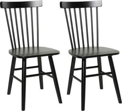 Home affaire 4-Fußstuhl »Dierck« (Set, 2 Stück), aus FSC®-zertifiziertem Massivholz