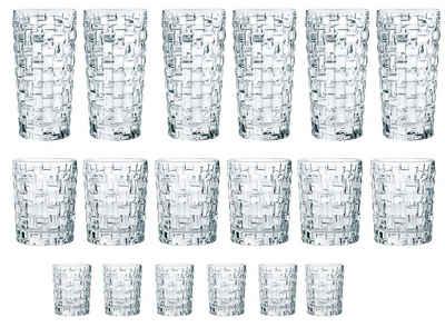 Nachtmann Gläser-Set »Bossa Nova«, Kristallglas, 18-teilig