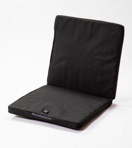 OUTCHAIR Polsterauflage »Bottom Heater - die beheizbare Wärmeunterlage für jede Gelegenheit«, beheizbare Stuhlauflage, universell einsetzbar