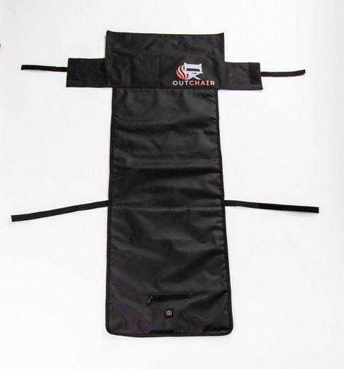 OUTCHAIR Polsterauflage »Seat Cover - die innovative Wärmeunterlage«, beheizbare Stuhlauflage, universell einsetzbar