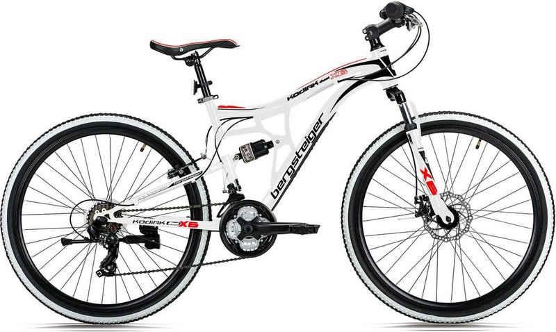 bergsteiger Mountainbike »Kodiak«, 21 Gang FD-TZ30 Schaltwerk, Kettenschaltung