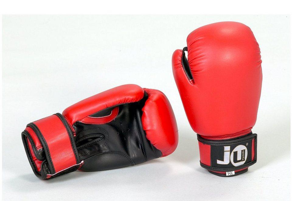 Boxhandschuhe für Kinder, Ju-Sports, »Special 6 oz« (1 Paar) in rot-schwarz