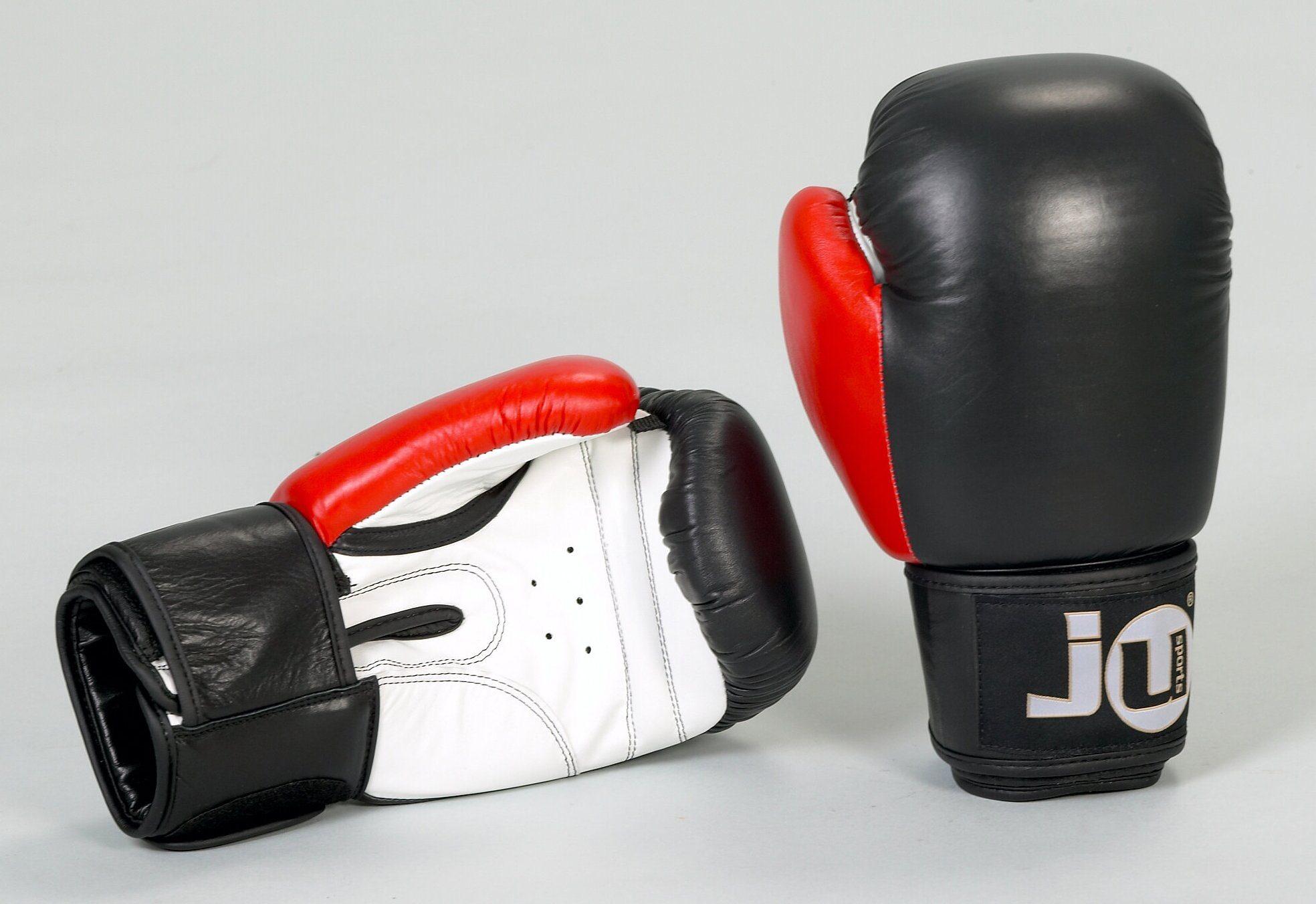Erwachsenenboxhandschuhe, Ju-Sports, »Leder 12 oz« (1 Paar)