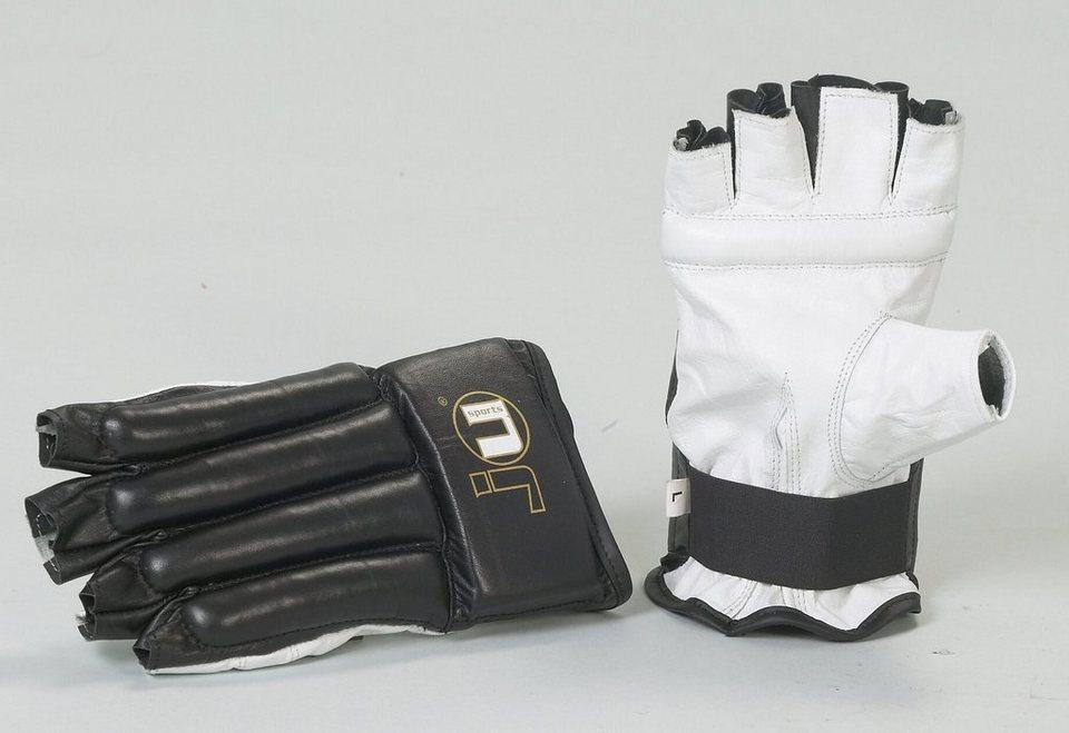 Sandsackhandschuhe, Ju-Sports, »Cut L« in schwarz/weiß