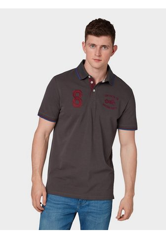 TOM TAILOR Кофта-поло »Poloshirt с Logo-Sti...