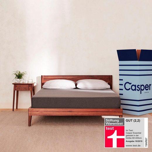 Komfortschaummatratze »Die Essential«, Casper, 18 cm hoch, Raumgewicht: 39, von Stiftung Warentest »GUT (2,2)«, getestet in Größe 90x200 cm in Härtegrad 3*
