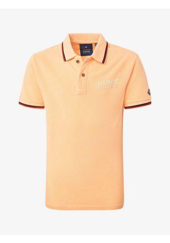TOM TAILOR Кофта-поло Поло рубашка с Print«...
