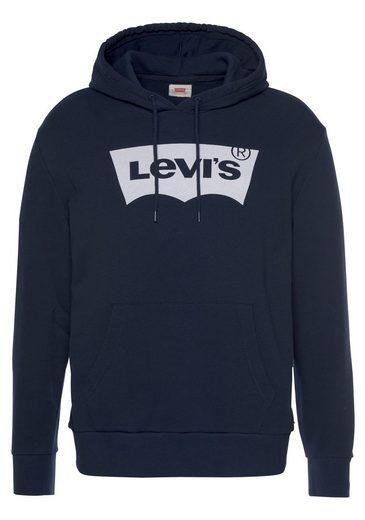 Levi's® Kapuzensweatshirt mit Batwing-Logo