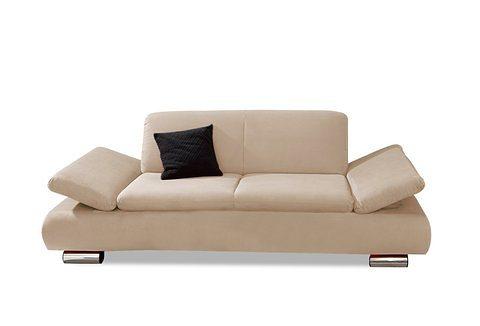 Max Winzer® 2-Sitzer Sofa »Toulouse« mit klappbaren Armlehnen, Breite 190 cm in beige