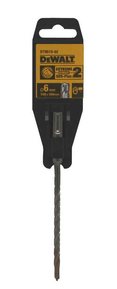 DeWalt Hammerbohrer, (1-tlg), DT9515 Extreme SDS Plus 2 Ø 6mm Steinbohrer Beton Bohrer