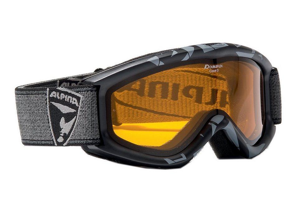 Skibrille, Alpina, »Carat D« in schwarz