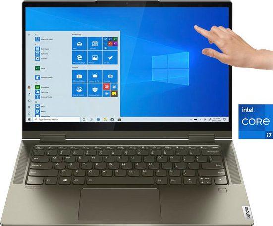 Lenovo Yoga 7 14ITL5 Notebook (35,56 cm/14 Zoll, Intel Core i7, Iris© Xe Graphics, 1000 GB SSD)