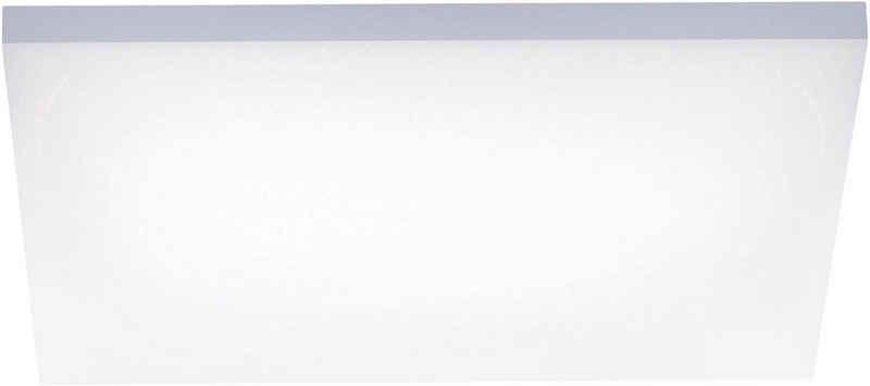Paul Neuhaus Deckenleuchte »FRAMELESS«, LED Panel mit Farbtemperaturregelung (warmweiß-tageslichtwei), rahmenlos und quadratisch, Dimmbar über Funkfernbedienung
