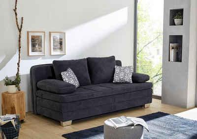 Jockenhöfer Gruppe Schlafsofa, mit Bettfunktion und Bettkasten, als Dauerschläfer geeignet, mit hervorragendem Sitz- und Liegekomfort, mit fest vernähtem Kaltschaumtopper