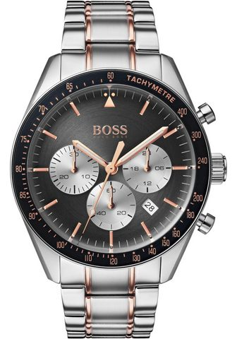 BOSS Chronografas- laikrodis »Trophy 151363...