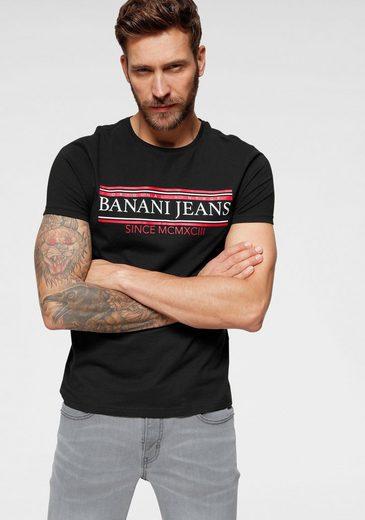 Bruno Banani T-Shirt mit Markenprint